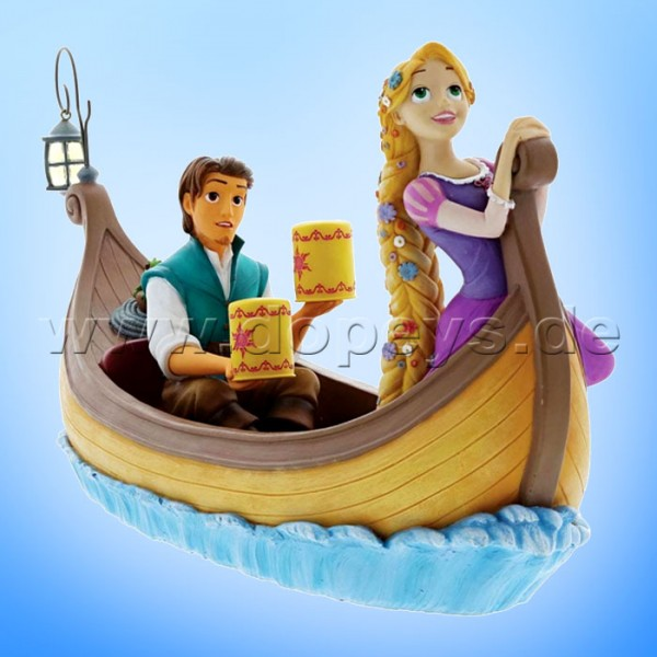 Enchanting Disney Collection - Rapunzel & Flynn Rider im Laternen-Boot (I See The Light) Figur A28827