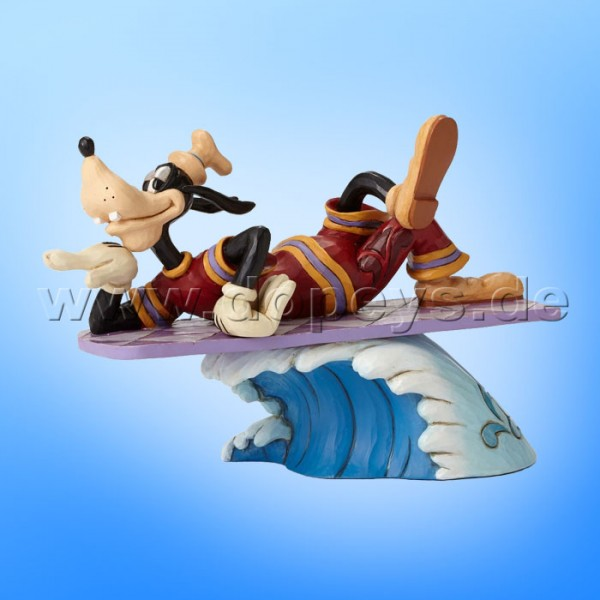"Disney Traditions / Jim Shore Figur von Enesco. ""Catch A Wave (Surfer Goofy)"" 4050414."