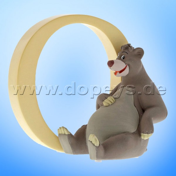 "Enchanting Disney Collection - Buchstabe ""O"" - Balu Figur von Enesco A29560"