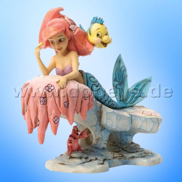 "Disney Traditions / Jim Shore Figur von Enesco. ""Dreaming Under The Sea (Arielle)"" 4037501."