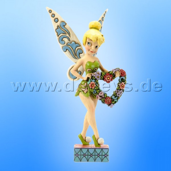 "Disney Traditions / Jim Shore Figur von Enesco ""Love & Best Wishes (Tinker Bell)"" 4037520."