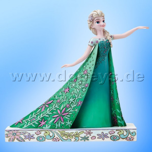 "Disney Traditions / Jim Shore Figur von Enesco.""Celebration of Spring (Elsa Party-Fieber)"" 4050881."