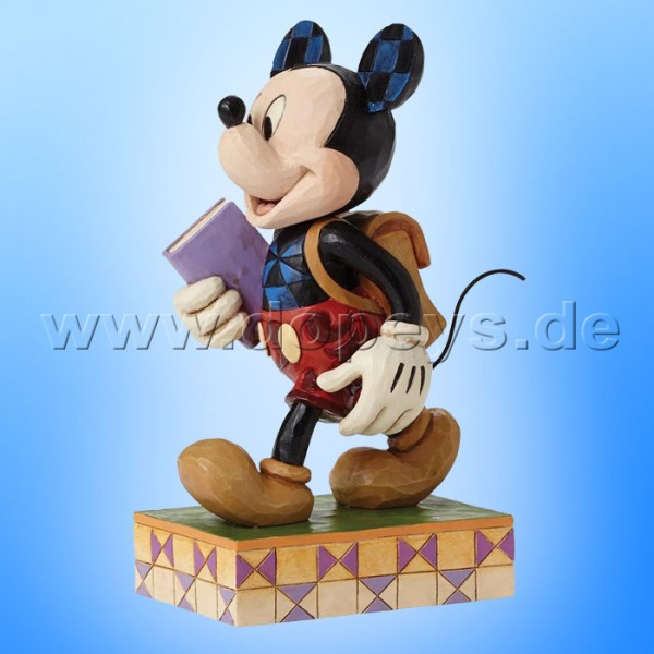 "Disney Traditions / Jim Shore Figur von Enesco ""Eager to Learn (Mickey Maus)"" 4051995."