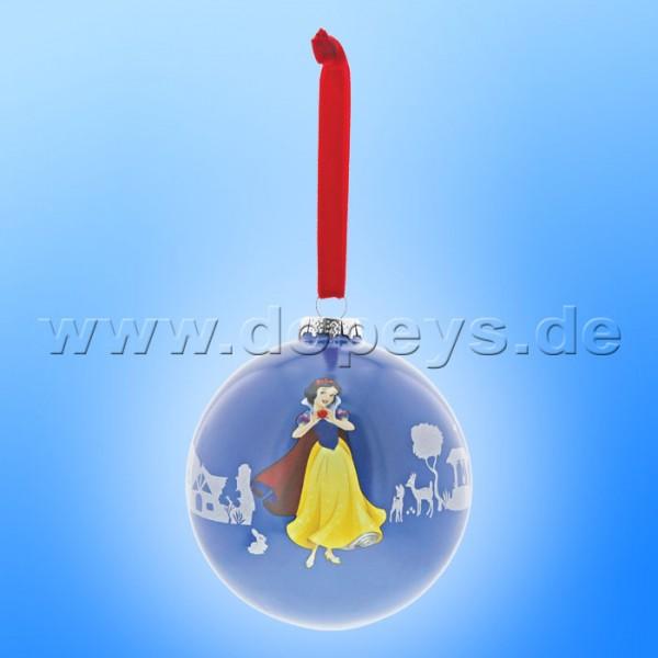 """Disney Enchanting Collection - Schneewittchen und die 7 Zwerge Weihnachtskugel / Glaskugel """"The Little Princess"""" A29682"""