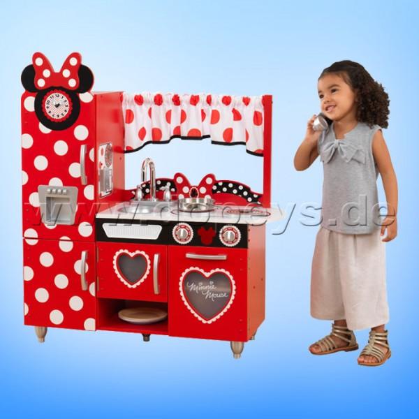 Disney Junior Minnie Maus Vintage-Spielküche aus Holz von KidKraft 53371