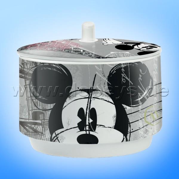 """Disney Zuckerdose """"Mickey Maus"""", Coffee In The City im italienischen Design, PWM41/XY"""