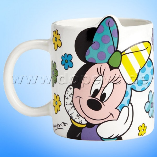 "Disney by Britto Tasse von Enesco ""Minnie Maus Kaffeebecher"" 4057045."