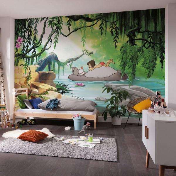 "Disney Fototapete Das Dschungelbuch ""Jungle book Swimming With Baloo"""