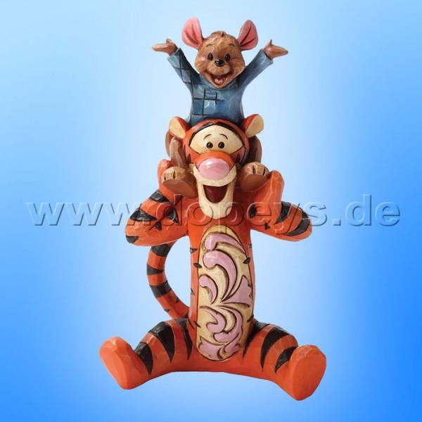 "Disney Traditions / Jim Shore Figur von Enesco. ""Bestest Pals (Tigger & Ruh)"" 4032859."