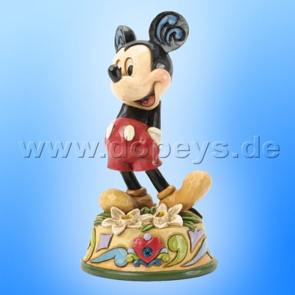 "Disney Traditions / Jim Shore Figur von Enesco ""Dezember (Mickey Maus)"" 4033969."