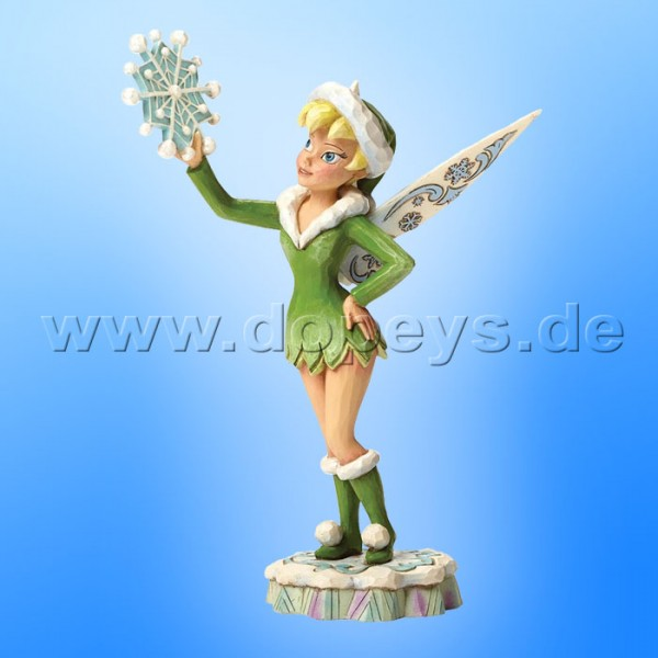 "Disney Traditions / Jim Shore Figur von Enesco.""Frost Fairy (Tinker Bell)"" 4046018."
