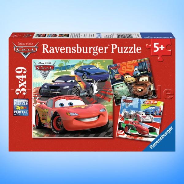 """Disney Puzzles Cars """"Weltweiter Rennspaß"""" von Ravensburger 09281"""