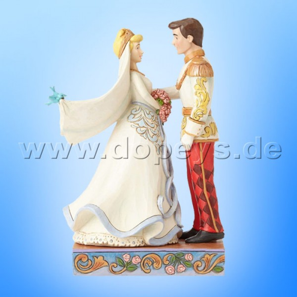 "Disney Traditions / Jim Shore Figur von Enesco ""Happily Ever After (Cinderella & Prinz Hochzeitsfigur)"" 4056748."