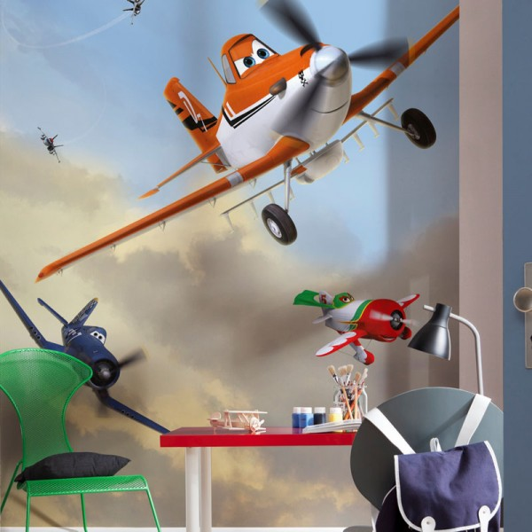 "Disney Planes Fototapete ""Dusty and Friends"""