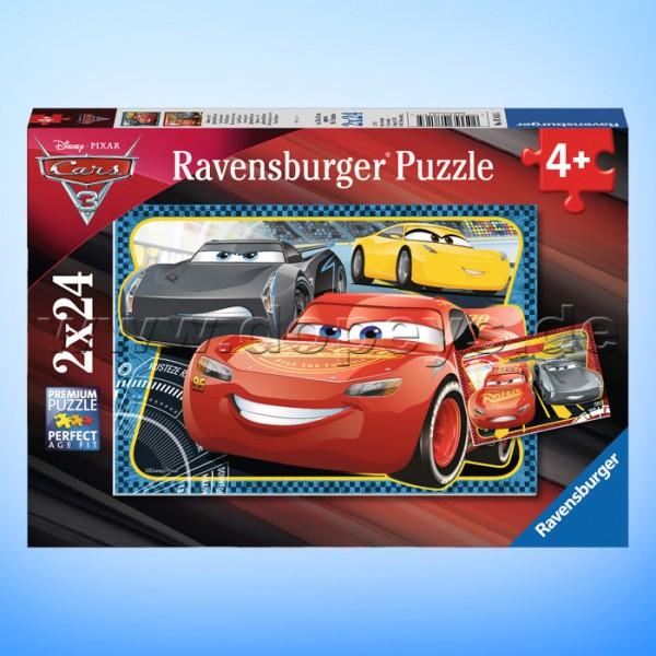 """Disney Puzzles Cars """"Abenteuer mit Lightning McQueen"""" von Ravensburger 07816"""