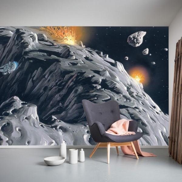 """Star Wars Vlies Fototapete """"Star Wars Classic RMQ Asteroid"""""""