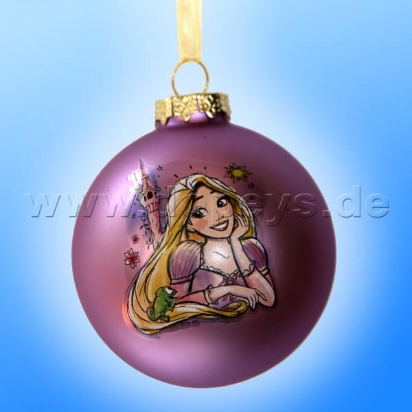 """Kurt S. Adler - Disney Prinzessin """"Rapunzel"""" Weihnachtsbaumkugel / Glaskugel in Violett DN01005-B"""