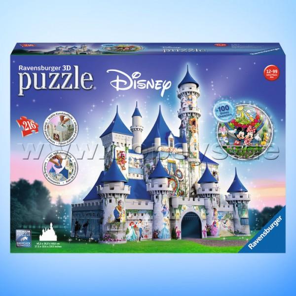 "Disney 3D Puzzle ""Disney Schloss"" von Ravensburger 12587"