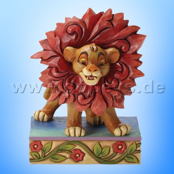 """Disney Traditions / Jim Shore Figur von Enesco """"Just Can't Wait To Be King (Simba)"""" 4032861."""