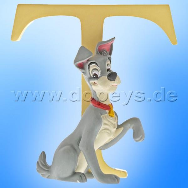 "Enchanting Disney Collection - Buchstabe ""S"" - Strolch Figur von Enesco A29565"