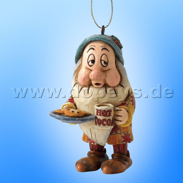 "Disney Traditions / Jim Shore Figur von Enesco. ""Schlafmütze Ornament Baumanhänger"" A9044."