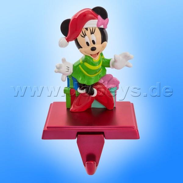 """Kurt S. Adler - Disney Weihnachtsstrumpfhalter / Kaminsockenhalter """"Minnie Maus"""" mit ausziehbarem Haken DN5162"""
