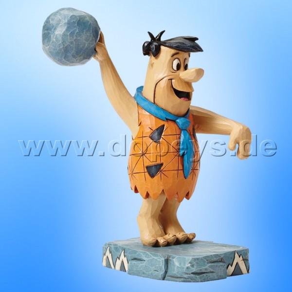 "The Flintstones / Jim Shore Figur von Enesco.""Twinkle Toes (Fred Feuerstein)"" 4051593."