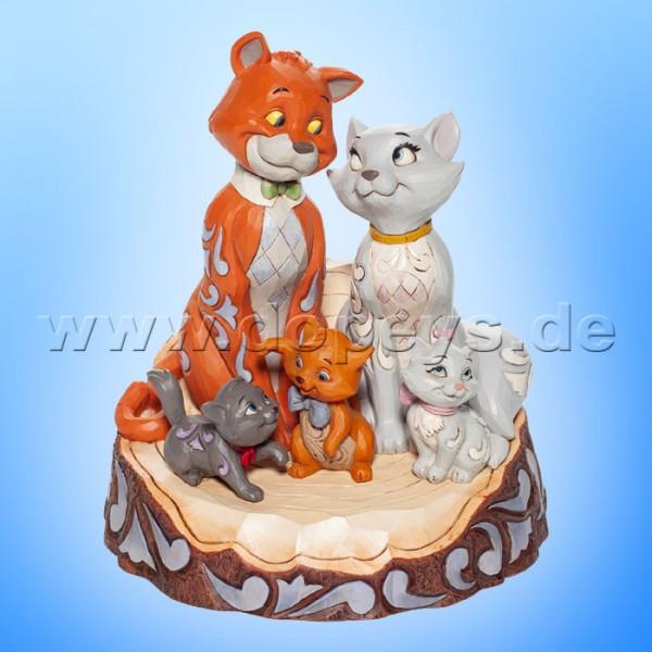 Disney Traditions - Pride and Joy (Aristocats Baumstamm) von Jim Shore 6007057