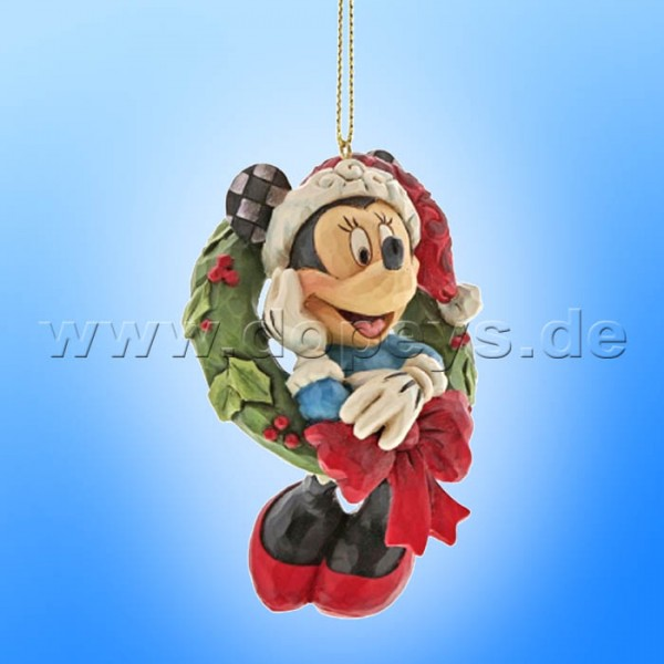 Disney Traditions - Minnie Maus Ornament Baumanhänger von Jim Shore A30356