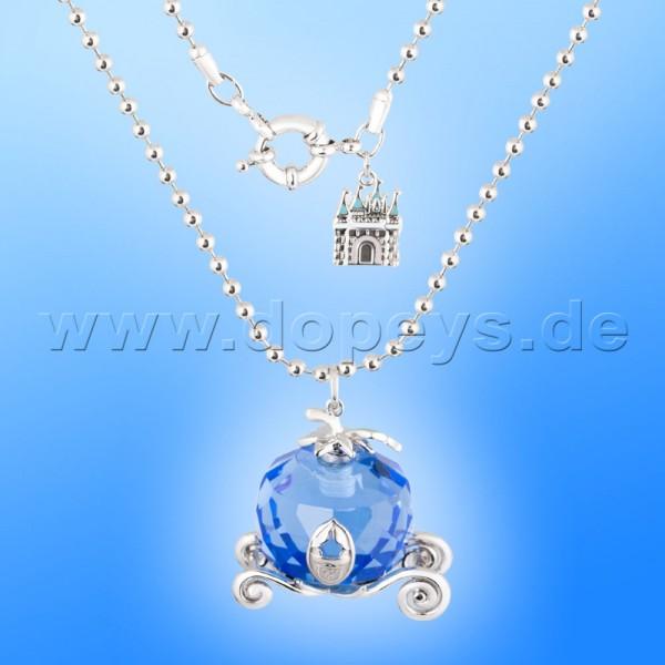 Disney Halskette - Kürbis Kutsche (Cinderella) in Weißgold von Couture Kingdom 12100561