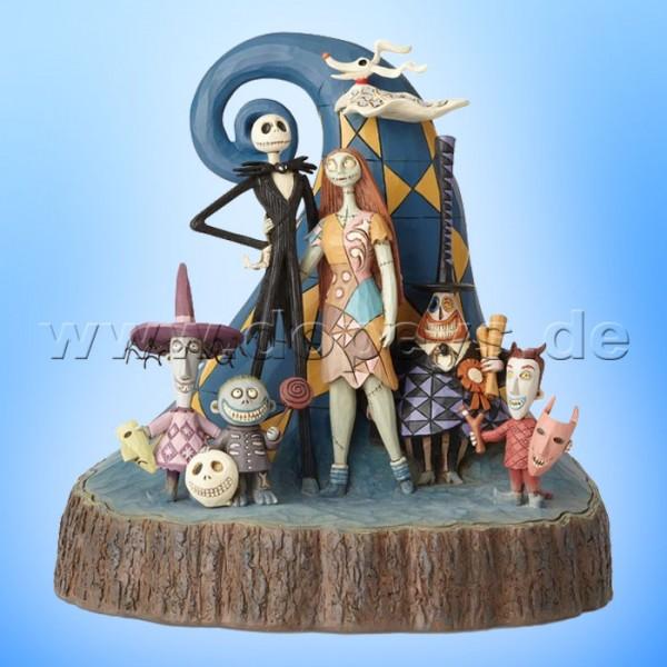 What A Wonderful Nightmare (Nightmare Before Christmas Baumstamm) Figur von Disney Traditions / Jim Shore - Enesco 6001287