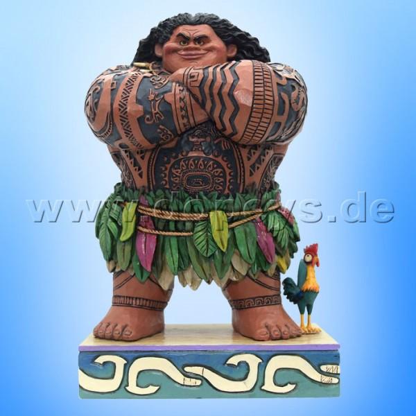 "Disney Traditions / Jim Shore Figur von Enesco ""Daring Demigod (Maui)"" 4058284."