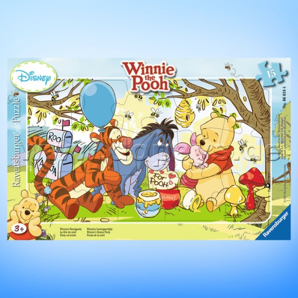 "Disney Puzzle Winnie Puuh ""Winnies Honigparty"" von Ravensburger 06018"