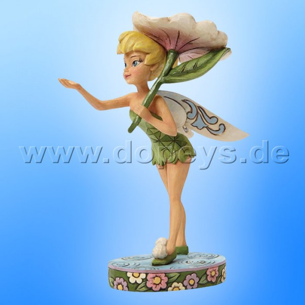 "Disney Traditions / Jim Shore Figur von Enesco. ""Spring Shower (Tinker Bell)"" 4045255."