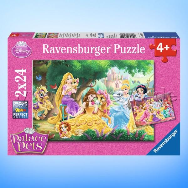 """Disney Puzzles """"Palace Pets, Beste Freunde der Prinzessinnen"""" von Ravensburger 08952"""