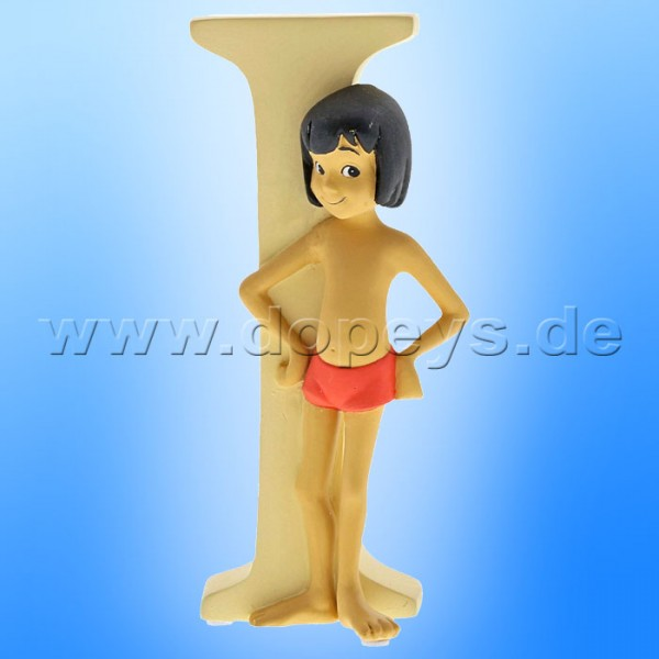 "Enchanting Disney Collection - Buchstabe ""I"" - Mowgli Figur von Enesco A29554"