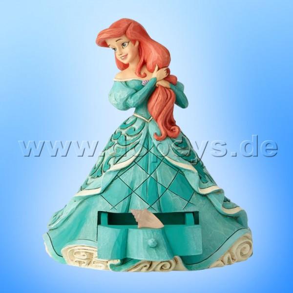 """Disney Traditions / Jim Shore Figur - Arielle mit Schmuckkasten """"Arielle's Secret Charm"""" A29505"""