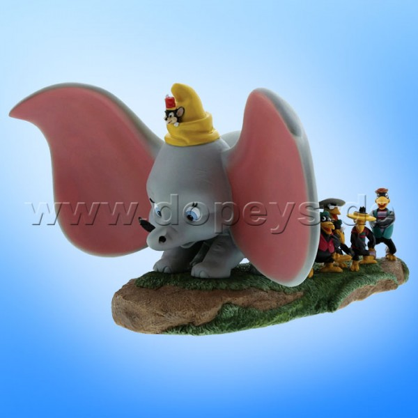 "Disney Enchanting Collection von Enesco ""Take Flight"" (Dumbo, Timothy, Jim Krähe & Brüder) Figur A28729"