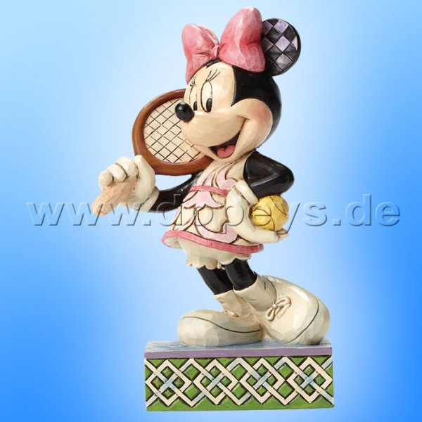 "Disney Traditions / Jim Shore Figur von Enesco.""Tennis, Anyone? (Minnie Maus)"" 4050404."