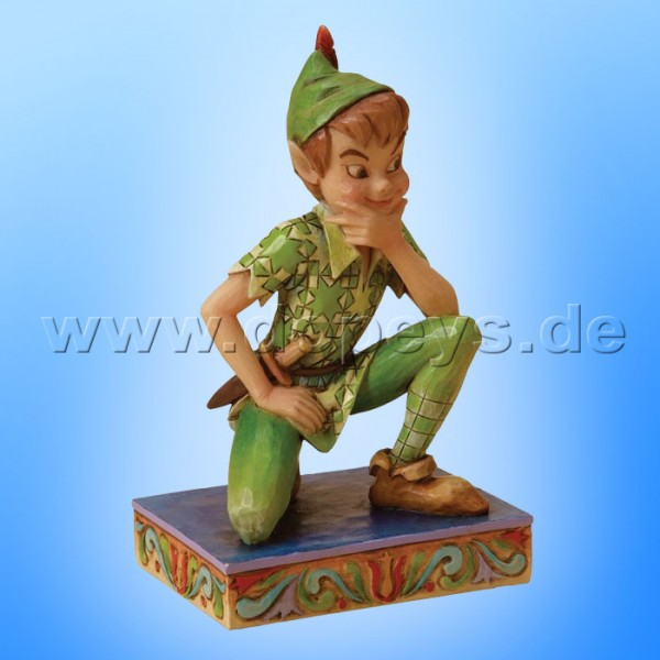 "Disney Traditions / Jim Shore Figur von Enesco. ""Childhood Champion (Peter Pan)"" 4023531."
