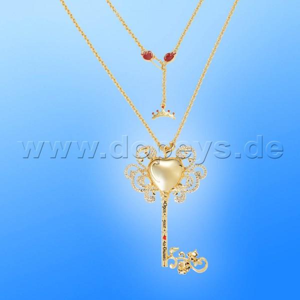 Disney Halskette - Schlüssel (Schneewittchen) in Gold von Couture Kingdom 12100181