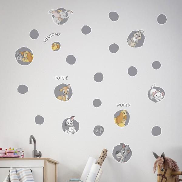 "Disney Wandsticker / Wandaufkleber Disney Baby ""A Simple Start"" 100cm x 70cm"