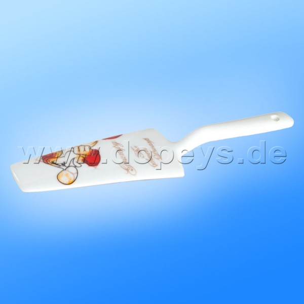 """Disney Disney Tortenheber / Kuchenschaufel 7 Zwerge """"Brummbär"""" im italienischen Design PWS77/05BR"""