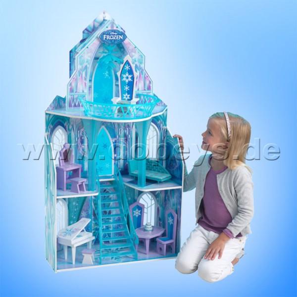 """Puppenhaus Disney Frozen Schloss der Eiskönigin """"Ice Castle"""" von KidKraft 65881"""