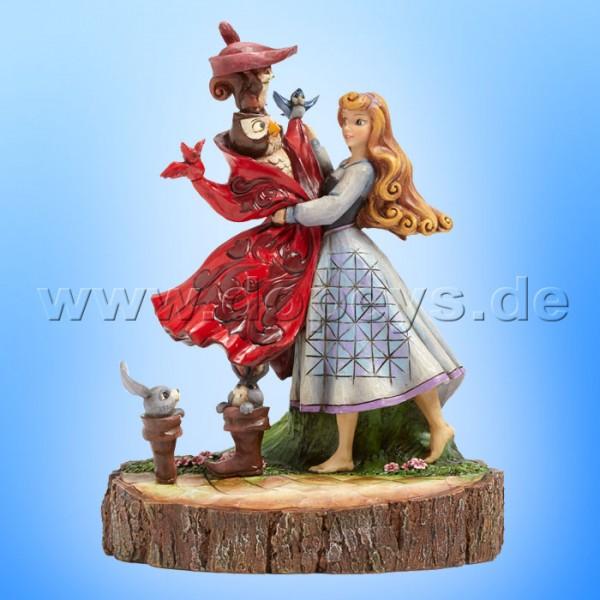 """Disney Traditions / Jim Shore Figur von Enesco. """"Once Upon A Dream (Aurora Baumstamm)"""" 4039076."""