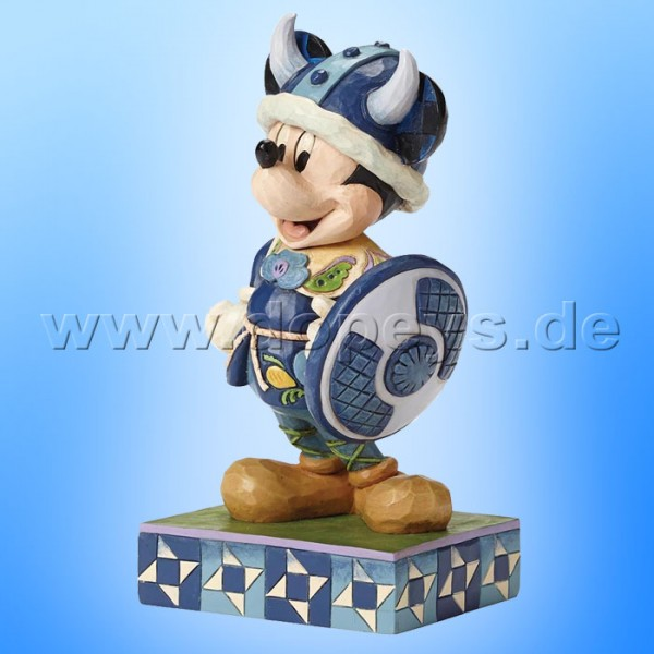 "Disney Traditions / Jim Shore Figur von Enesco ""Welcome To Norway (Mickey Maus)"" 4051992."