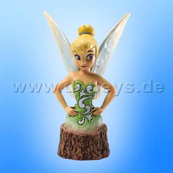 "Disney Traditions / Jim Shore Figur von Enesco ""Carved by Heart Baumstamm (Tinker Bell)"" 4033292."