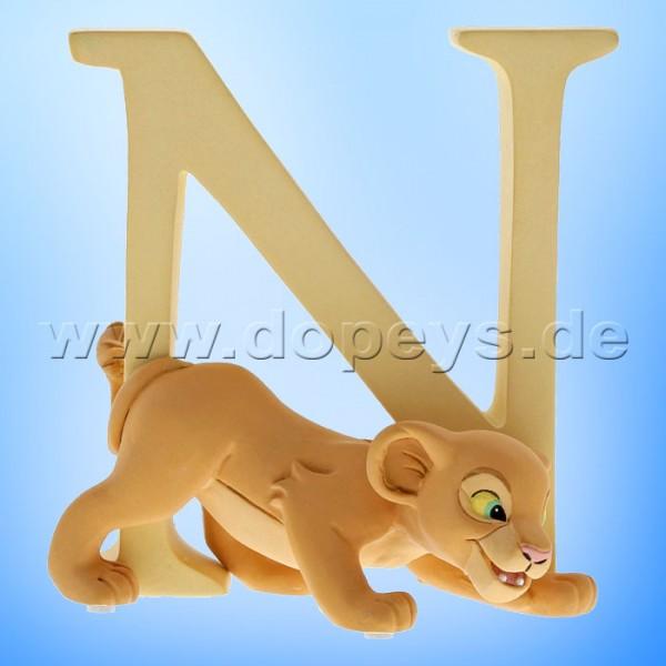 "Enchanting Disney Collection - Buchstabe ""N"" - Nala Figur von Enesco A29559"