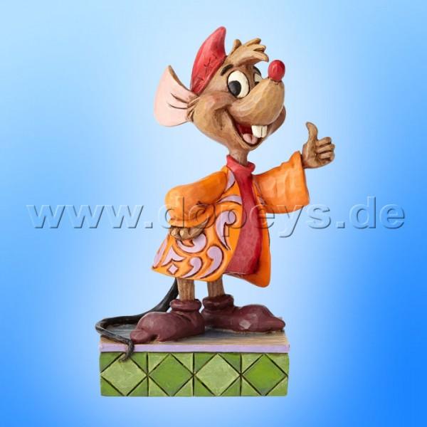 "Disney Traditions / Jim Shore Figur von Enesco ""Thumbs Up (Jacques)"" 4059738"