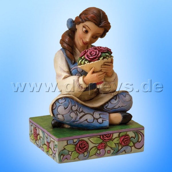 "Disney Traditions / Jim Shore Figur von Enesco.""Beautiful Belle (Belle)"" 4023532."